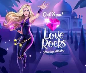 """Shakira lança joguinho para celular """"Love Rocks"""""""