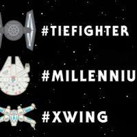 """Twitter e """"Star Wars"""": novos emojis chegam à rede social, com naves e robôs da saga intergalática"""