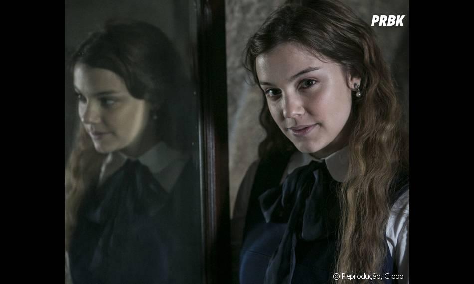 """Alice Wegmann interpreta a jovem Cecília, em """"Ligações Perigosas"""""""