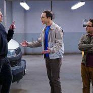 """Em """"The Big Bang Theory"""": na 9º temporada, Sheldon e Leonard procuram por gás hélio em novas fotos!"""
