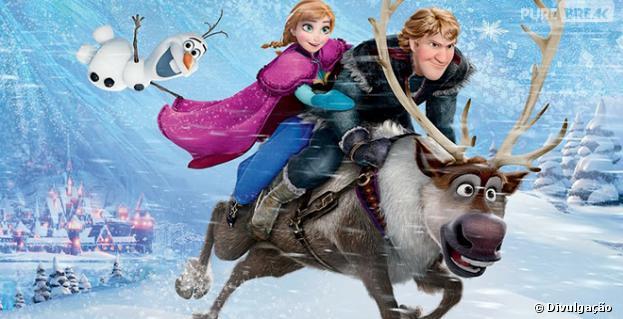 """""""Frozen - Uma Aventura Congelante"""" deve superar Beyoncé na Billboard"""