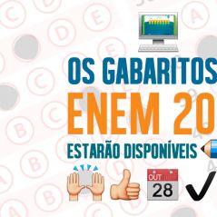 ENEM 2015: gabarito oficial será revelado nesta quarta-feira (28) pelo MEC!