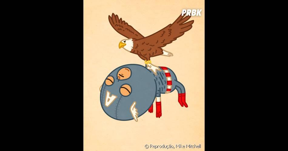 Capitão América foi dessa para uma melhor?