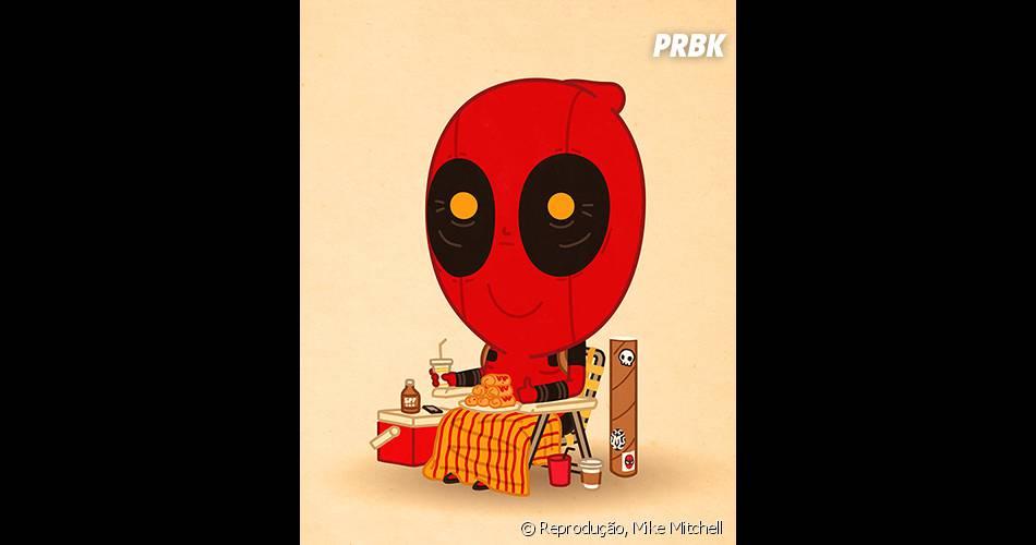 Deadpool sossegado? Tem alguma coisa estranha aí...