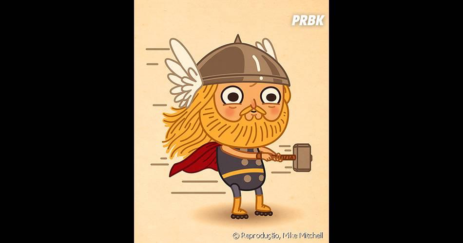 Thor ainda tem força para levantar o seu martelo?