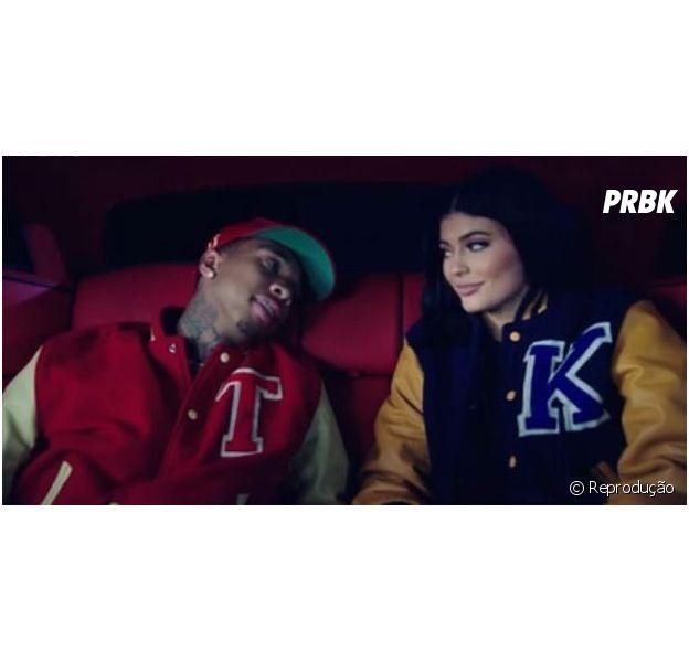 Kylie Jenner estrela novo clipe do namorado Tyga