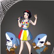 Branca de Neve vestida de Katy Perry? Princesas da Disney viram ícones da cultura pop no Halloween!