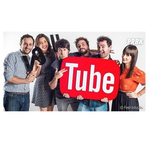 Centenas de Youtubers reunidos no Youtube Fanfest, em novembro
