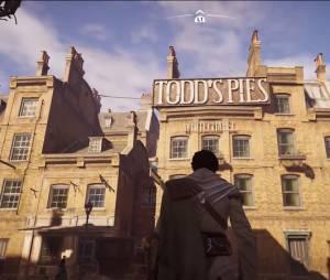 """A loja de tortas de Sweeny Todd está em """"Assassin's Creed: Syndicate"""""""