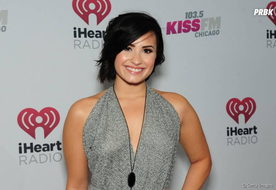 Demi Lovato é uma das principais artistas na luta contra o bullying