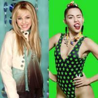 Miley Cyrus como Hannah Montana ou atualmente? Qual é a sua versão favorita da ex-Disney?