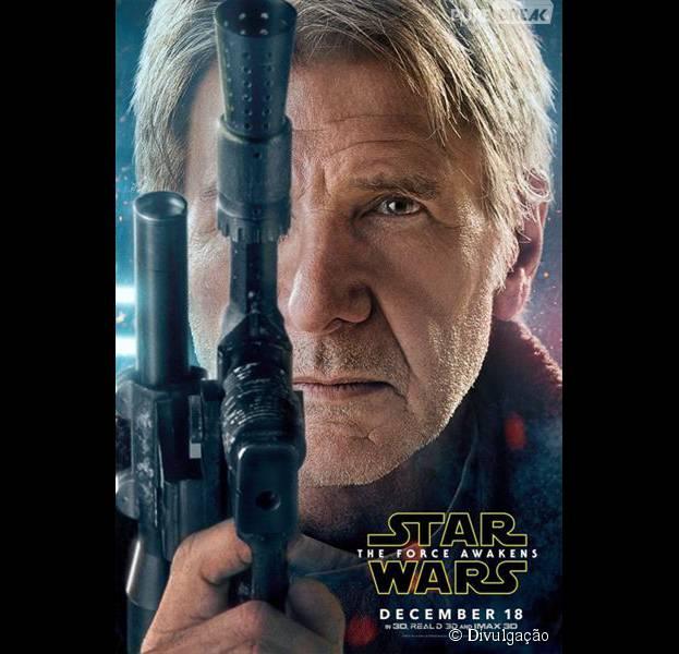 """Star Wars VII"": Harrison Ford volta a dar vida ao personagem Han Solo"