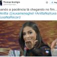 """Anitta fez a galera rir ao participar do """"Programa Xuxa Meneghel"""""""