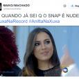 """Quem ama nudes? Anitta! Cantora vira meme ao participar do """"Programa Xuxa Meneghel"""""""