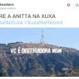 """Os fãs de Anitta amaram a participação da cantora no """"Programa Xuxa Meneghel"""" e criaram memes"""