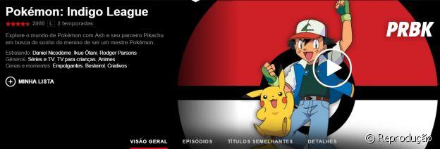 "Na Netflix: anime ""Pokémon"" está disponível na plataforma de streaming"
