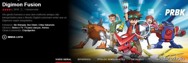 """Na Netflix: anime """"Digimon"""" está disponível na plataforma de streaming"""