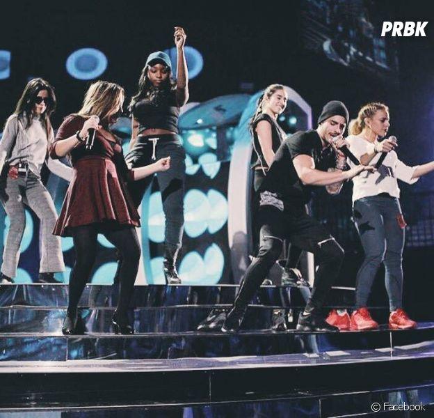 Fifth Harmony ensaia para o Grammy Latino 2015 com o colombiano Maluma