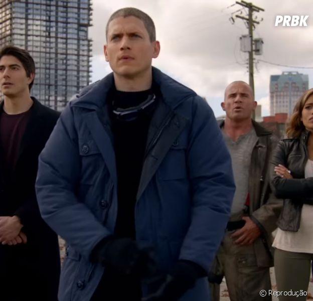 """The CW divulga trailer e data de estreia da série """"Legends of Tomorrow"""", spin-off de """"Arrow"""" e """"The Flash"""""""
