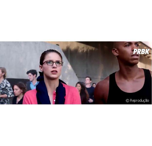 """Em """"Supergirl"""", Kara (Melissa Benoist) perde os poderes e ajuda vítimas de um terremoto!"""