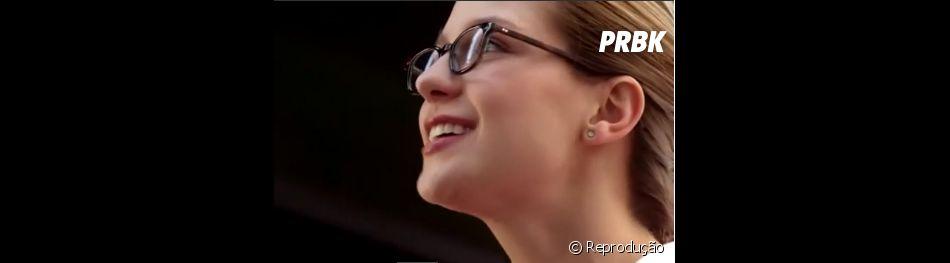 "Na série ""Supergirl"", Kara (Melissa Benoist) se desespera em ver terremoto sem ter poderes!"