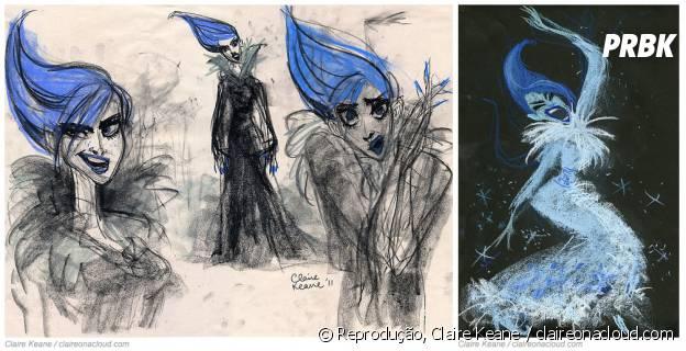 """De """"Frozen"""": Elsa seria uma vilã inspirada em Amy Winehouse"""