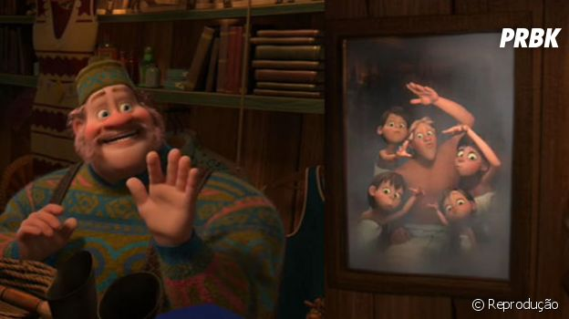 """De """"Frozen"""":Oaken, o lojista, pode ser gay!"""