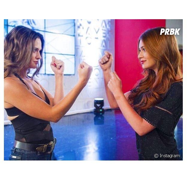 Marina Ruy Barbosa ou Juliana Paiva, quem você conhece mais?