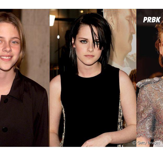 Confira a evolução de Kristen Stewart através dos anos