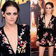 """Kristen Stewart em 2015, durante a première de Los Angeles de """"American Ultra"""", último filme da atriz a chegar aos cinemas"""