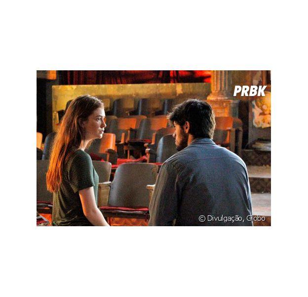 """Em """"Totalmente Demais"""", Eliza (Marina Ruy Barbosa) termina tudo com Jonatas (Felipe Simas)!"""