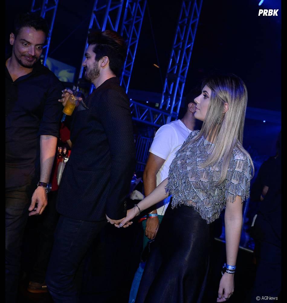 Luan Santana e Jade Magalhães retomaram o namoro em 2015, após dois anos separados