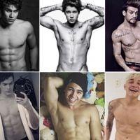 Justin Bieber pelado, Lucas Lucco sem camisa, Biel e outros gatos nas fotos mais ousadas de 2015!