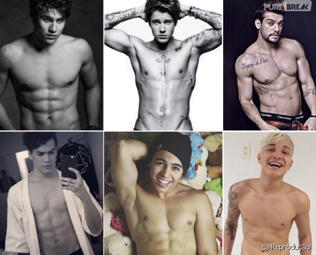 Justin Bieber, Biel, Sam Alves, Lucas Lucco e outros galãs que fizeram todo mundo suspirar em 2015!