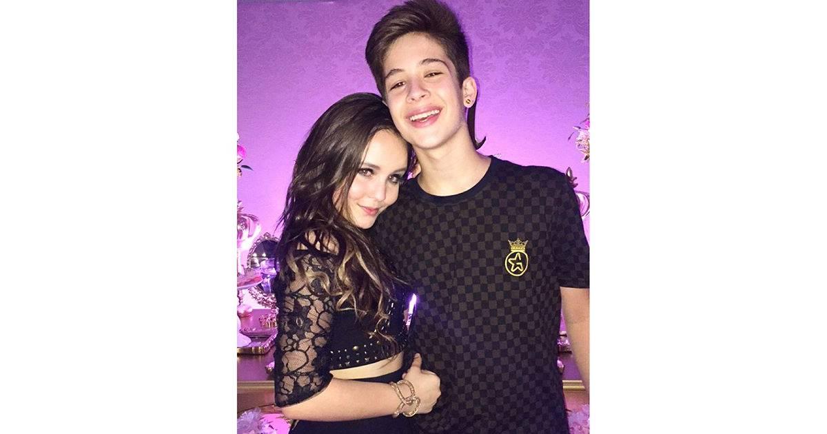 dbeb336ef7cd3 Larissa Manoela e João Guilherme Ávila juntos  Confira as fotos mais fofas  do casal na web! - Purebreak