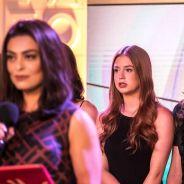 """Novela """"Totalmente Demais"""": Eliza (Marina Ruy Barbosa) é salva por um milagre e não deixa o concurso"""