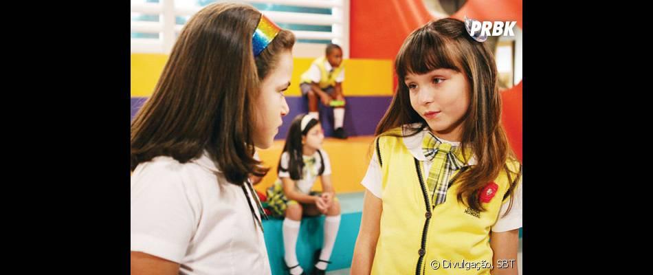 """De """"Carrossel"""": Valéria (Maisa Silva) e Maria Joaquina (Larissa Manoela) dublam suas personagens na novidade do SBT"""