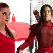 """Eliza de """"Totalmente Demais"""" e Katniss de """"Jogos Vorazes"""" são idênticas! Veja 7 semelhanças"""