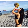 No último domingo (10), Camila Cabello chegou a publicar uma foto só de biquínina rede social