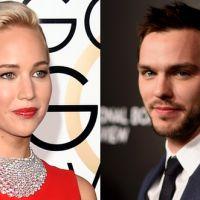 Jennifer Lawrence e Nicholas Hoult se reencontram no Globo de Ouro 2016. Veja foto!