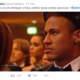 Será que o Neymar ficou mesmo #chateado de não levar a Bola de Ouro?
