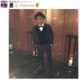 Neymar fez questão de publicar uma foto do seu look para o Bola de Ouro