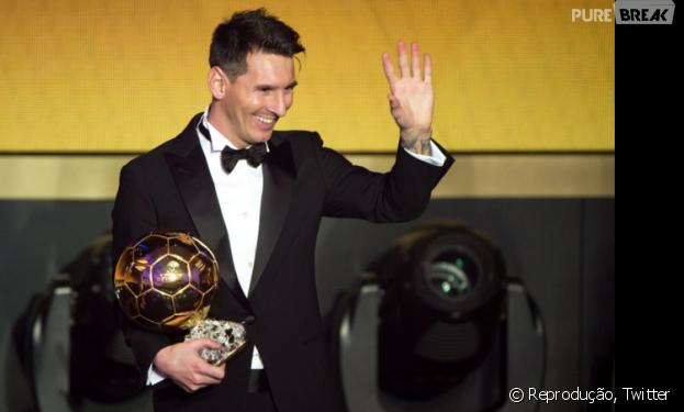 Na disputa com Neymar e Cristiano Ronaldo, Lionel Messi leva a melhor no Bola de Ouro 2016