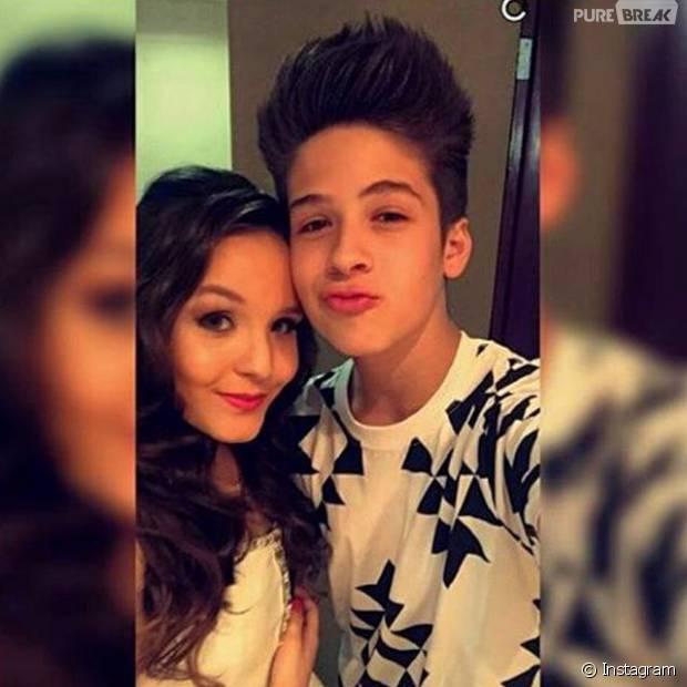 b4a826a9e4453 Larissa Manoela e João Guilherme Ávila assumiram o namoro no dia do  aniversário de 15 anos