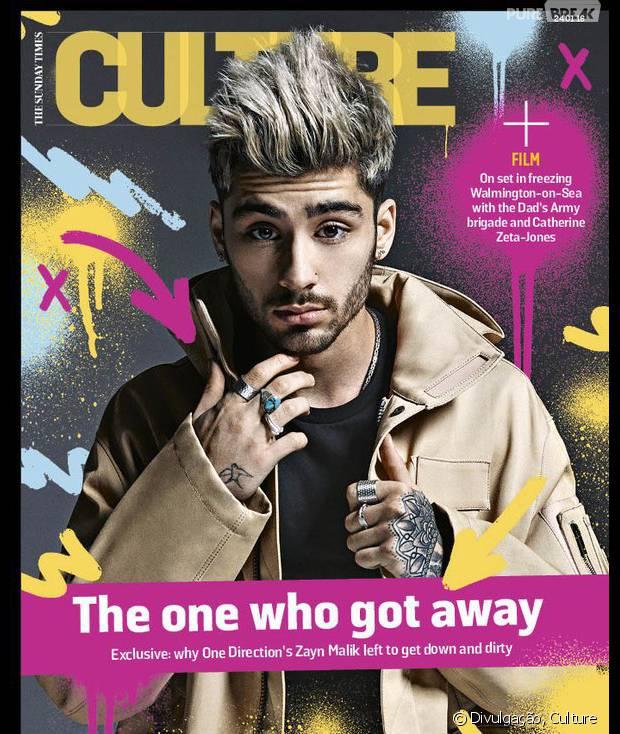 Zayn Malik é capa da revista americana Culture