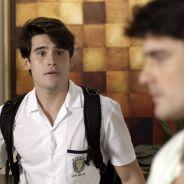 """Novela """"Malhação"""": Rodrigo (Nicolas Prattes) flagra Tito conversando com Ciça e fica bolado!"""