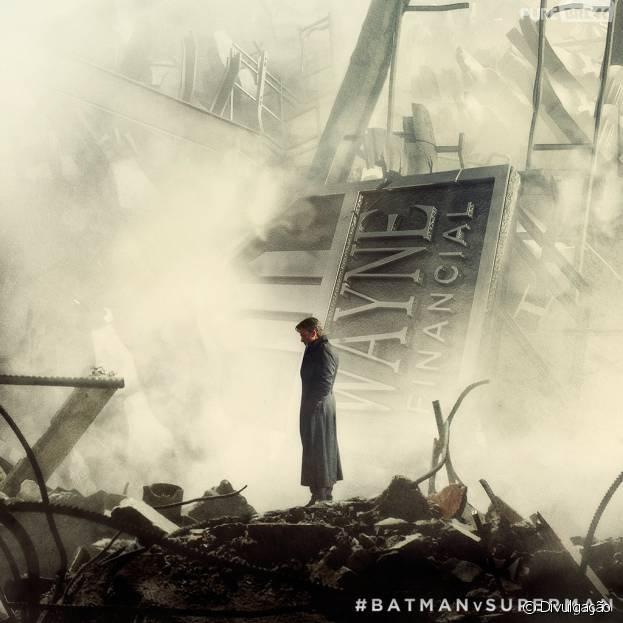 """""""Batman Vs Superman: A Origem da Justiça"""" ganhou uma nova imagem"""