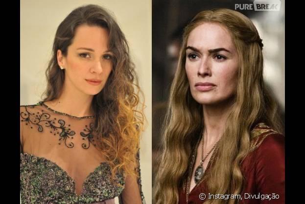 """De """"Os Dez Mandamentos"""": Francisca Queiroz será parecida com a Cersei de """"Game of Thrones""""!"""