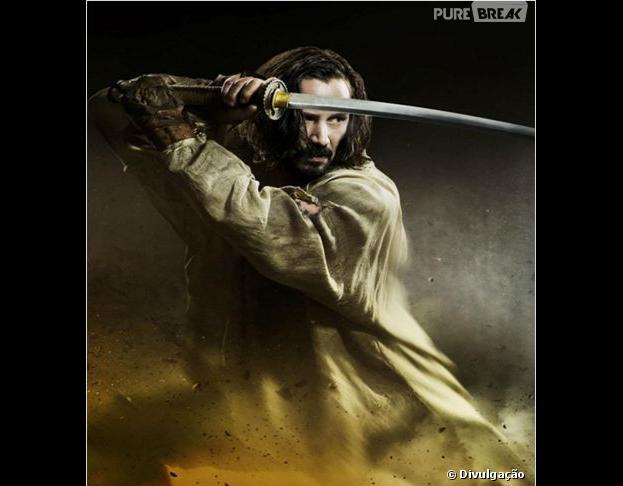 """Keanu Reeves é a grande estrela do filme """"47 Ronins"""""""