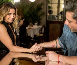 """Em """"A Regra do Jogo"""": morte de Romero (Alexandre Nero) não passou de uma aposta com Atena (Giovanna Antonelli)!"""